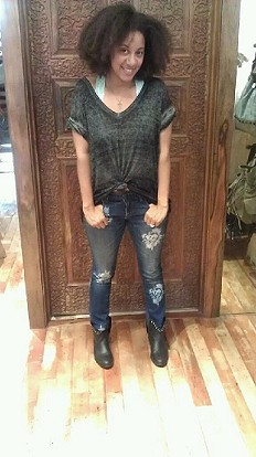 Magnolia Ankle Skinny style pic
