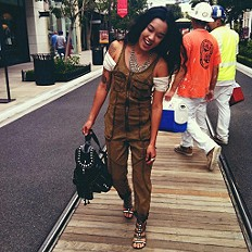 I LOVE the Adorned Utility Overall!