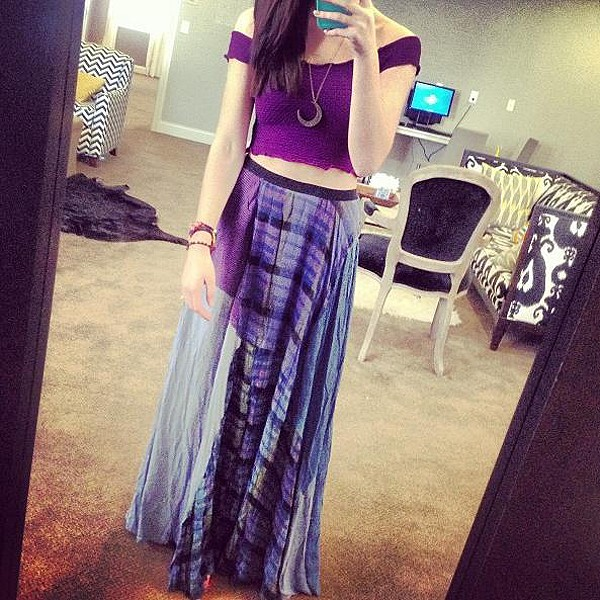 Patchwork maxi style pic