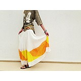 Manina Colorblock Skirt style pic
