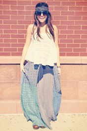 FP ONE Patchwork Maxi style pic