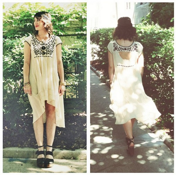 Marina Embroidered Dress style pic