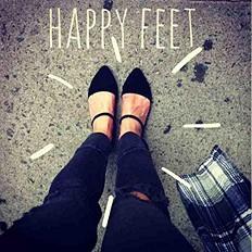 happy feet for fall