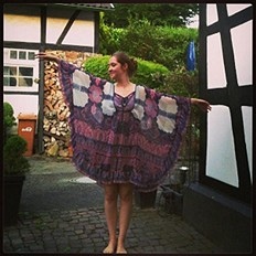 dreams dress find its way to germany