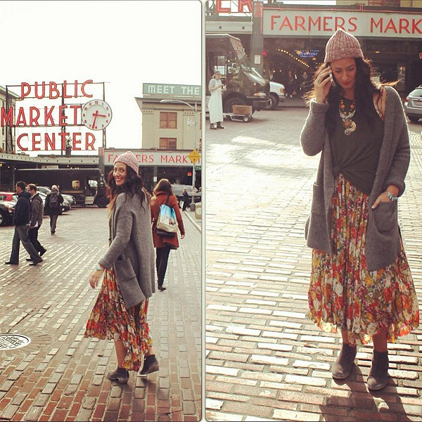 #FPFallChallenge #FPMe #FreePeople | Pike Place M