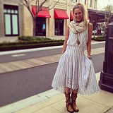 FP New Romantics Pantry Stripe Dress style pic