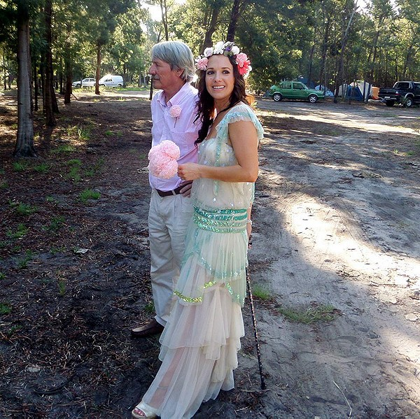 With the help of my wonderful mother and a bridal slip (replaced the lining) the dress came out PERFECTLY and I could not be happier with it!! Had so many compliments and it was simply perfect for our bohemian forest wedding :-)
