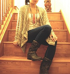 Crochet Beau Boot style pic