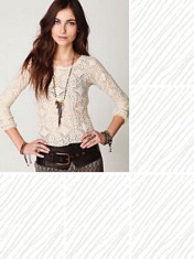 Lacy Layering Top