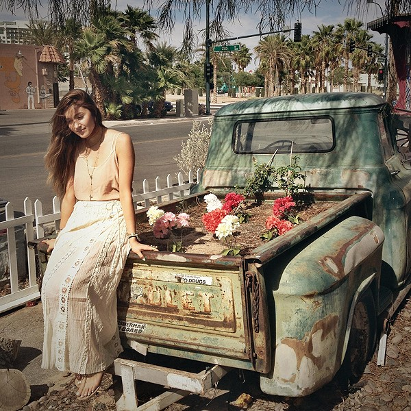 old chevy corset maxi