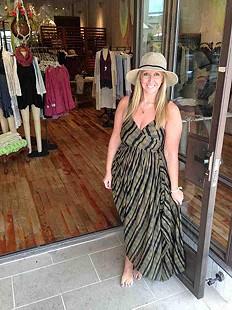 Waikiki Wrap Dress Style Pic