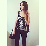 FP X Flower Garland Tank style pic