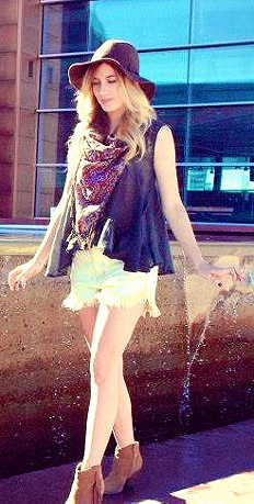 FP ONE Crochet Tank style pic