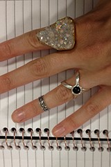 Onyx Interlock Ring style pic