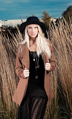 Military Wool Coat style pic
