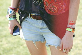 FP Denim Cut Off Shorts style pic