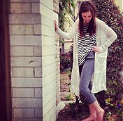 Enraptured Slub Cardigan - comfy & cozy