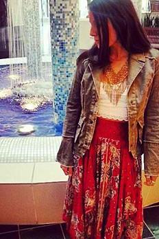 fly away skirt