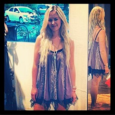 Pieced Lacey Tunic style pic