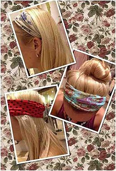 who doesn't love a printed headband?!