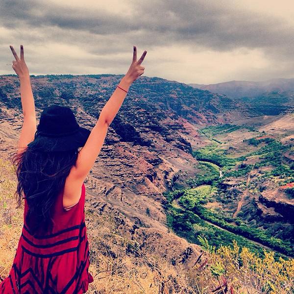 on top of the world - kauai, Hawaii