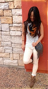 Rolled Cropped Skinny style pic