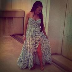 Crossing Boundaries Maxi Dress style pic