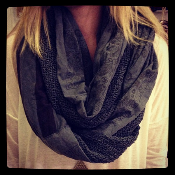 American Flag Infinity Scarf style pic
