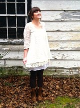 Cutwork Tunic style pic