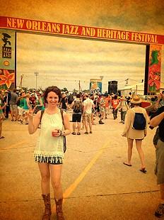 Melody's Prairie Tunic @ Jazz Fest
