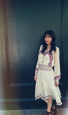 Neo Folk Embroidered Dress style pic