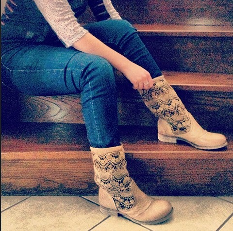 Crochet Slouch Boot style pic