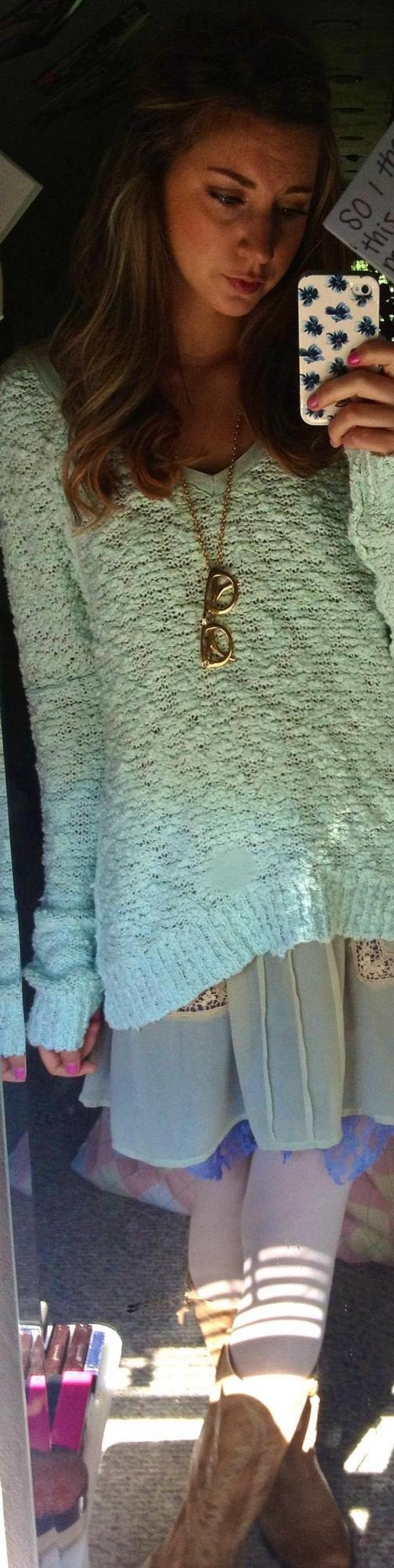 My Favorite Mint Sweater!