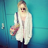 Mesh Sweater Jacket style pic