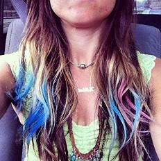 Hair Chalk style pic