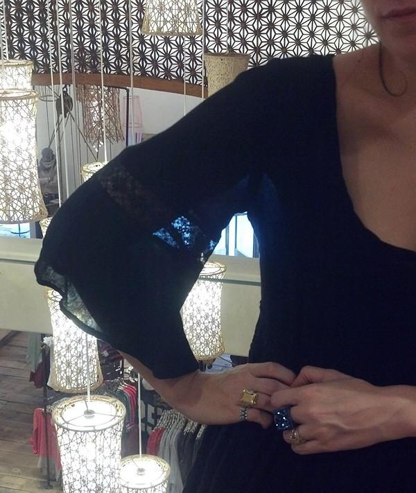 Daisy Lace Dress lace detail
