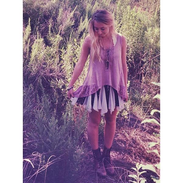 Olivia's Peplum Top style pic
