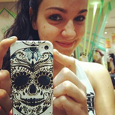 Printed iPhone 4/4S Case style pic