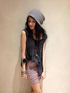 High Waist Scrunch Skirt style pic