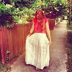 free people maxi skirt...dreamy