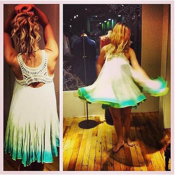 FP ONE Sweet Upon The Seat Dress style pic