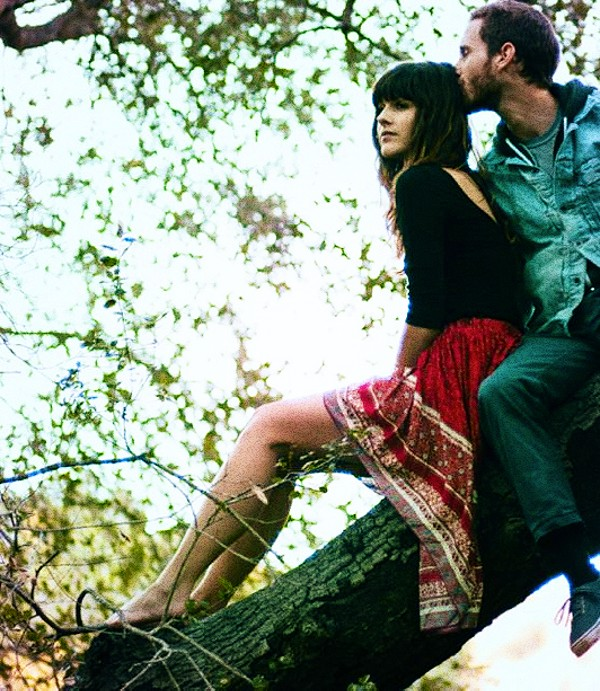 romance in the gorgeous Highlow Slip Skirt. #allyo