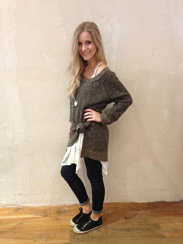 Honeycomb sweater style pic