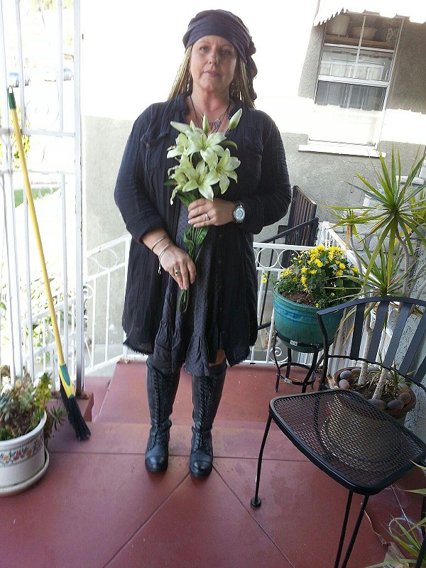 #fpSunChaser Circles of fun dress with a live in my shirt dress knee high boots and free people over the knee socks love this dress!!!!