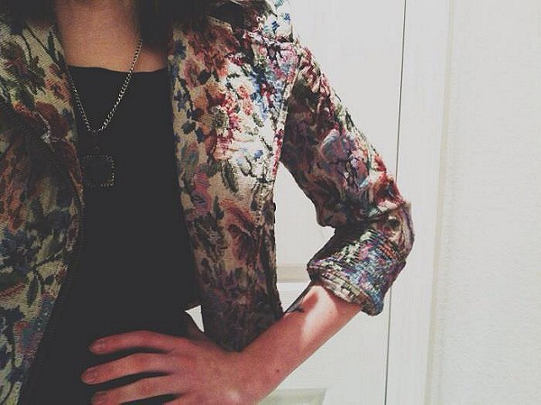 Tapestry Moto Jacket style pic
