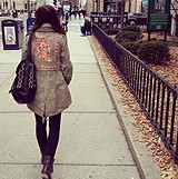 Embroidered Parka 