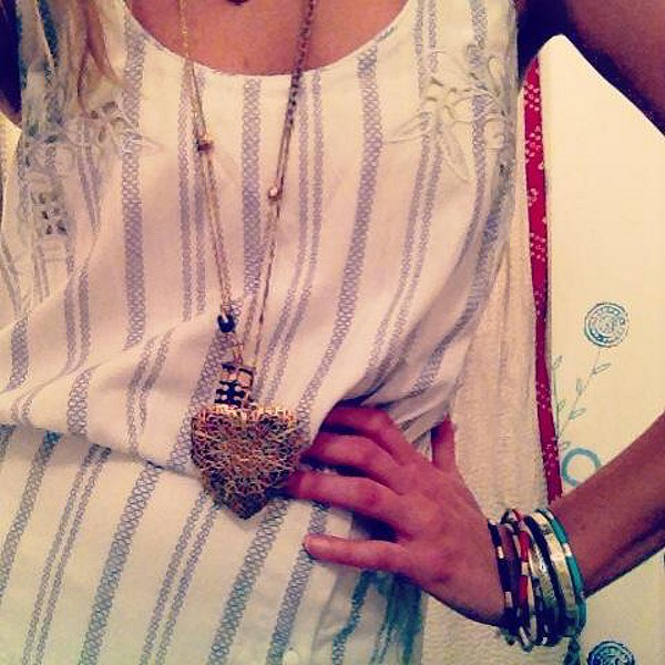 FP New Romantics Pantry Stripe Dress style pic