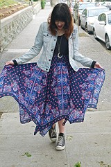 Kaleidoscope Fly Away Skirt style pic