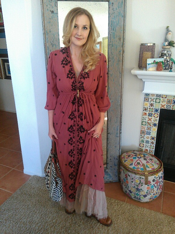 Embroidered Fable Dress style pic