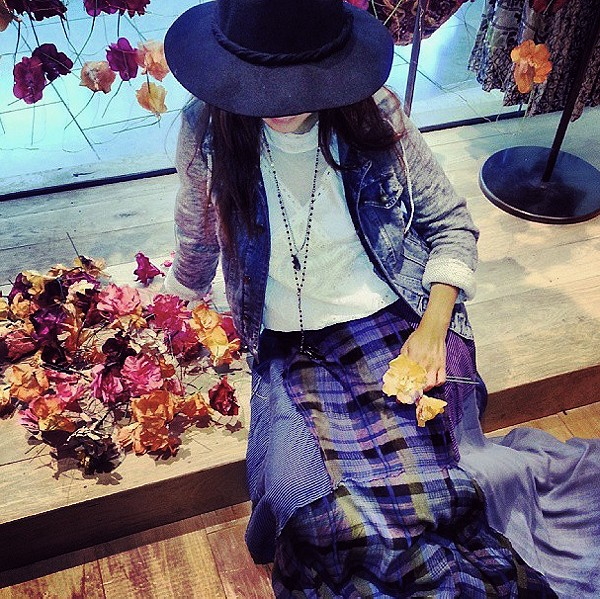 FP ONE Plaid Patchwork Maxi style pic